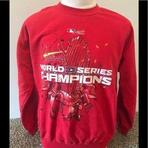 St. Louis Cardinals World Series Sweater Sz L 2006